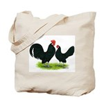 Black Dutch Pair Tote Bag