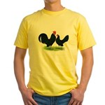 Black Dutch Pair Yellow T-Shirt