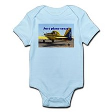 Just plane crazy: Air Tractor (blue & ye Body Suit