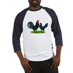 Blue Dutch Chickens Baseball Jersey