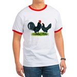 Blue Dutch Chickens Ringer T