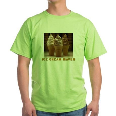 ICE CREAM MAVEN Green T-Shirt