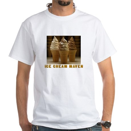 ICE CREAM MAVEN White T-Shirt