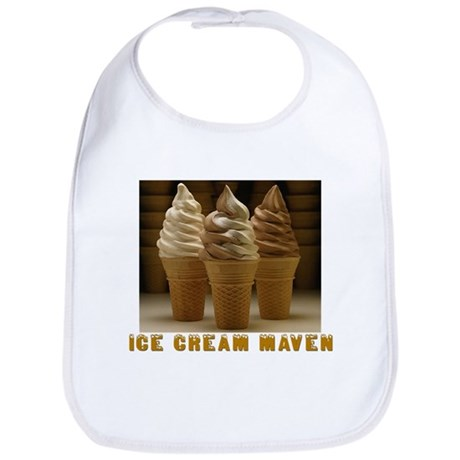 ICE CREAM MAVEN Bib