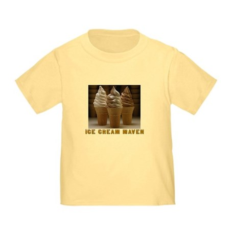 ICE CREAM MAVEN Toddler T-Shirt