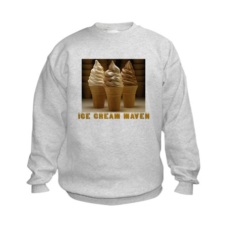 ICE CREAM MAVEN Kids Sweatshirt