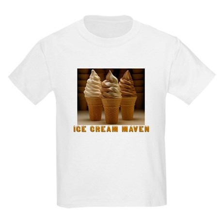 ICE CREAM MAVEN Kids Light T-Shirt