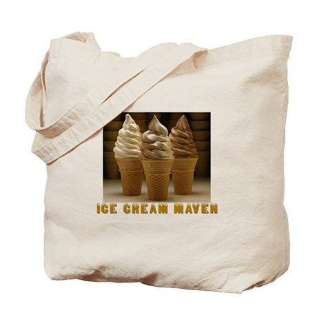 ICE CREAM MAVEN Tote Bag