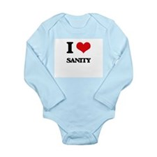 I Love Sanity Body Suit
