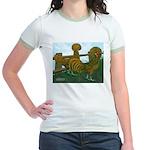 Golden Polish Chickens Jr. Ringer T-Shirt