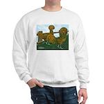 Golden Polish Chickens Sweatshirt