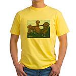 Golden Polish Chickens Yellow T-Shirt