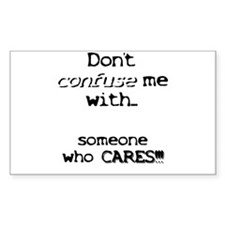Someone who cares Rectangle Decal
