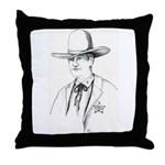 Pawnee Sheriff Throw Pillow