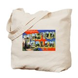 Winston-Salem North Carolina Tote Bag