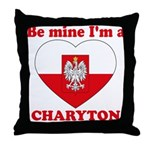 Charyton, Valentine's Day Throw Pillow