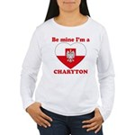 Charyton, Valentine's Day Women's Long Sleeve T-Sh