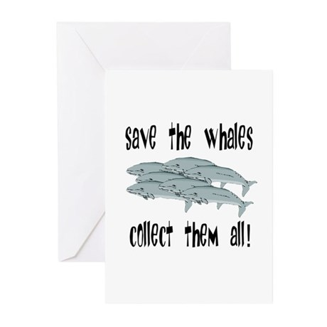 Save the Whales Greeting Cards (Pk of 10)