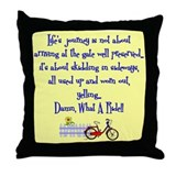Lifes Journey II Throw Pillow