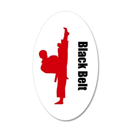 Black Belt Wall Decal