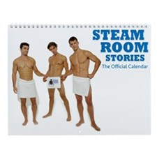 Official Steam Room Stories Wall Calendar