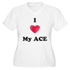 I Love My Ace Plus Size T-Shirt