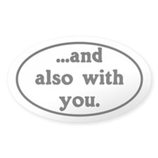 And Also With You Church Van Decal
