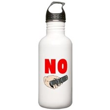 No Cellphones Water Bottle