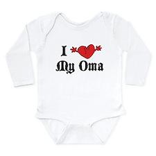 Cute Munich germany Long Sleeve Infant Bodysuit