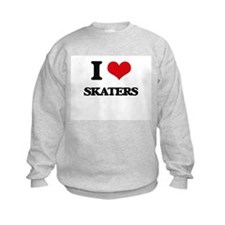 I Love Skaters Sweatshirt
