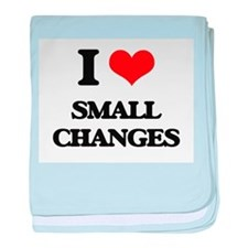 I love Small Changes baby blanket