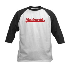 Badnarik (retro-sport-red) Kids Baseball Jersey
