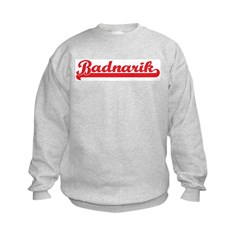 Badnarik (retro-sport-red) Kids Sweatshirt