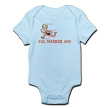 Run, Warren, Run! Infant Bodysuit