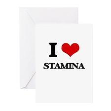 I love Stamina Greeting Cards