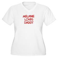 Melanie Loves Daddy T-Shirt