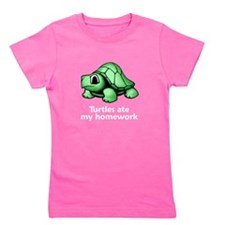Unique Cool turtle Girl's Tee