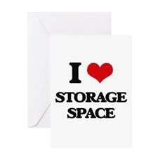 I love Storage Space Greeting Cards