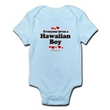 Everyone loves a Hawaiian boy Infant Bodysuit