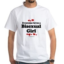 Everyone loves a Bisexual Girl Shirt