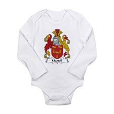Cute Family names Long Sleeve Infant Bodysuit