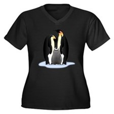 Penguin Family Plus Size T-Shirt