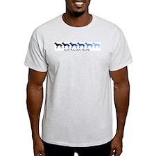 Australian Kelpie (blue color T-Shirt