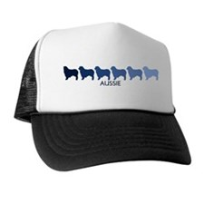 Aussie (blue color spectrum) Trucker Hat