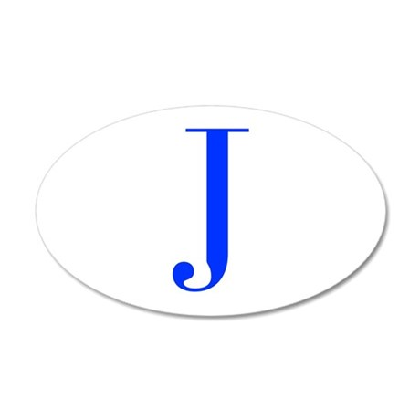 J-bod blue Wall Decal