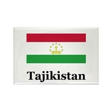 Tajikistan Rectangle Magnet
