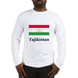 Tajikistan Long Sleeve T-Shirt