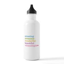Volcanologist Sports Water Bottle