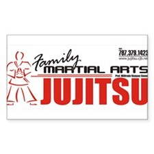 Jujitsu Family Rectangle Decal