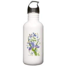 Blue Bouquet Water Bottle